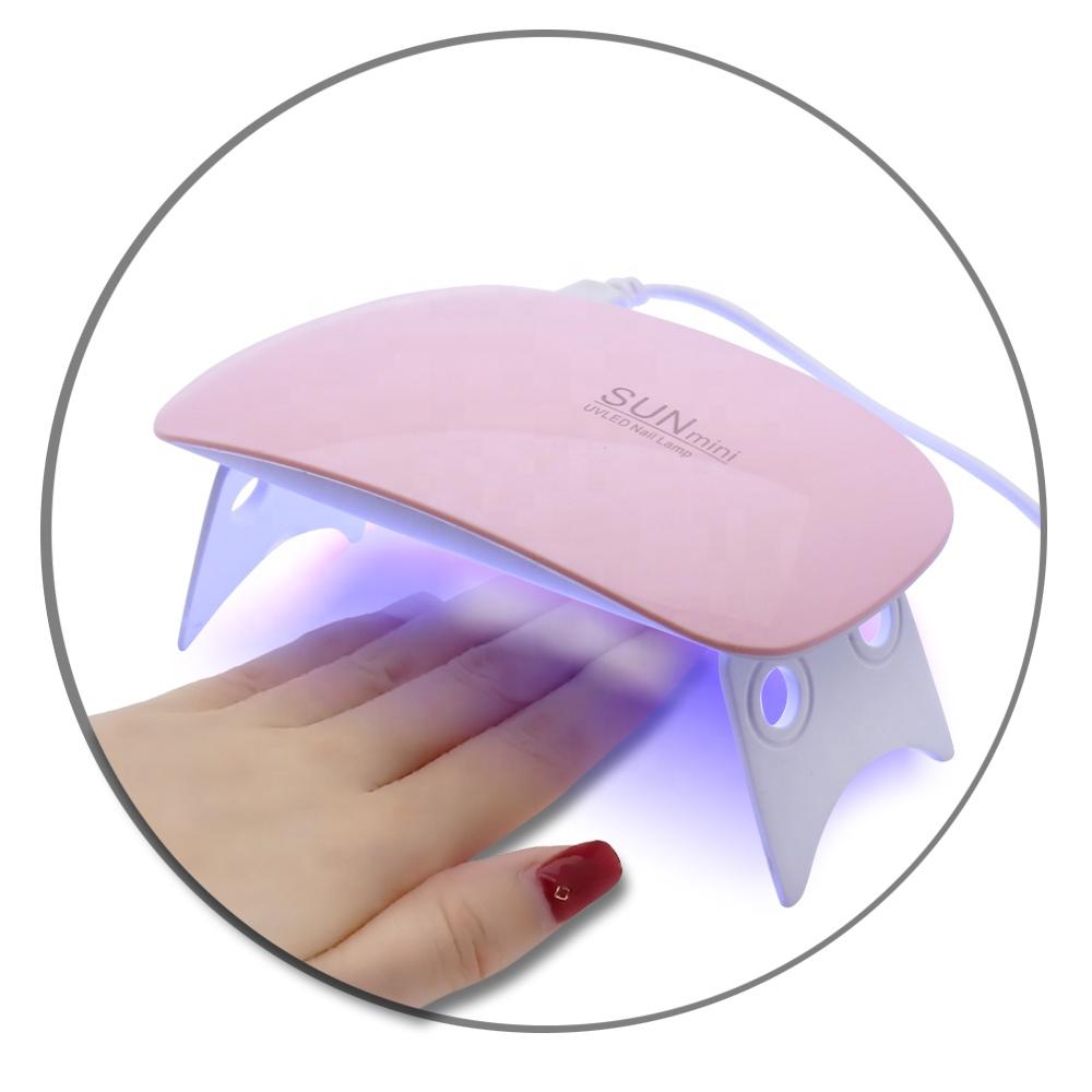 Белый набор для ногтей сушилка Акриловые портативный мини-лампы для ногтей, УФ светодиодная лампа 100w