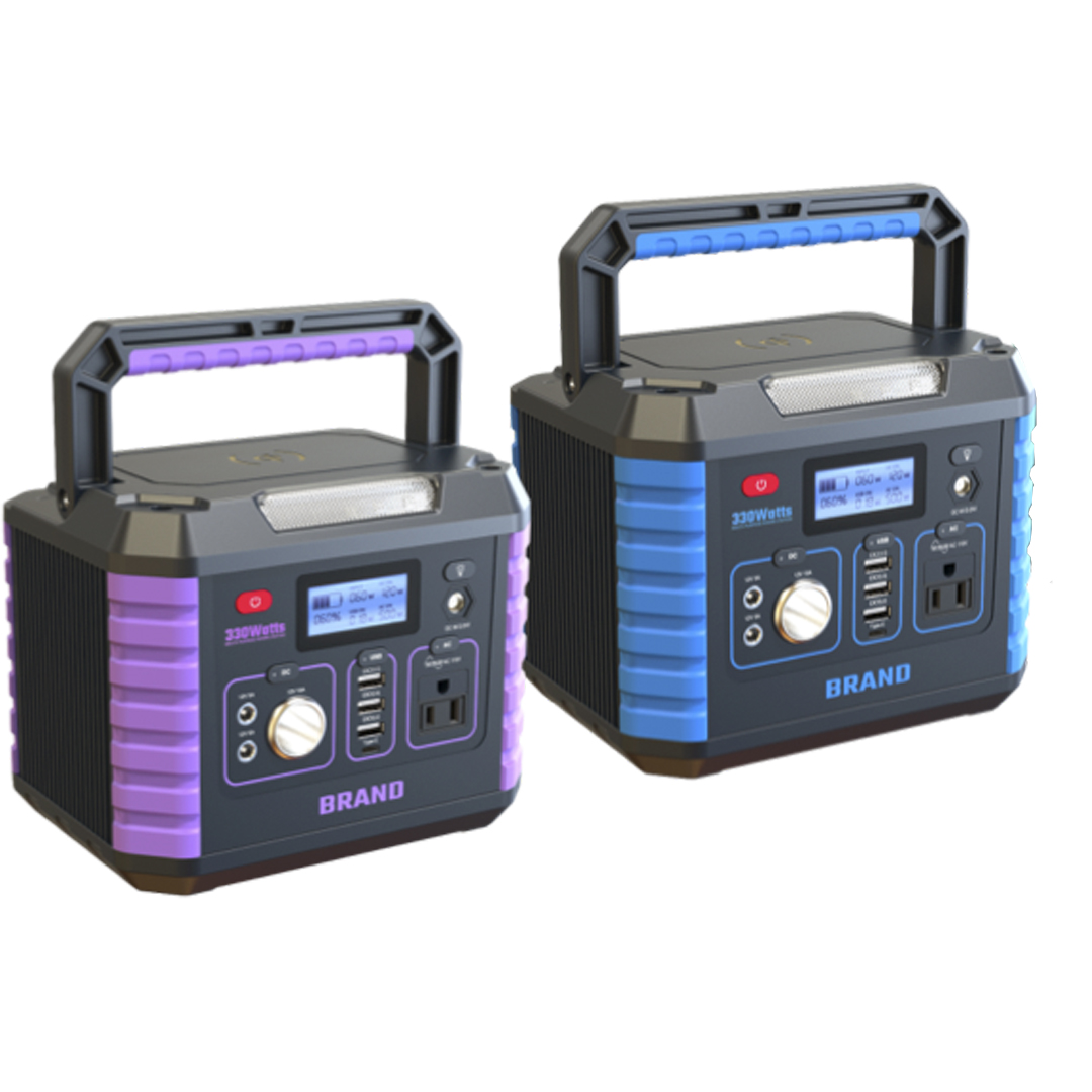 Military Emergency Backup Lithium-ion Station Portable Generator With 300w 12v Outdoor Lithium Battery