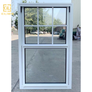 Foshan factory security windows wholesale cheap price modern vertical sliding window grill design for philippines