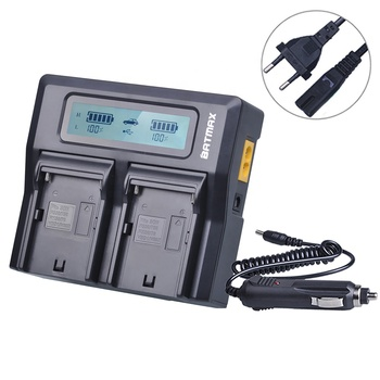 dual Charger np-fm5001056015-90108-90302 SK batería para Sony np-fm500h 1650mah
