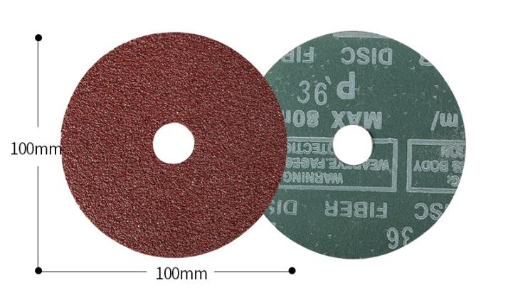 % 1/6 alüminyum oksit/silisyum karbür aşındırıcı disk fiber disk 982c