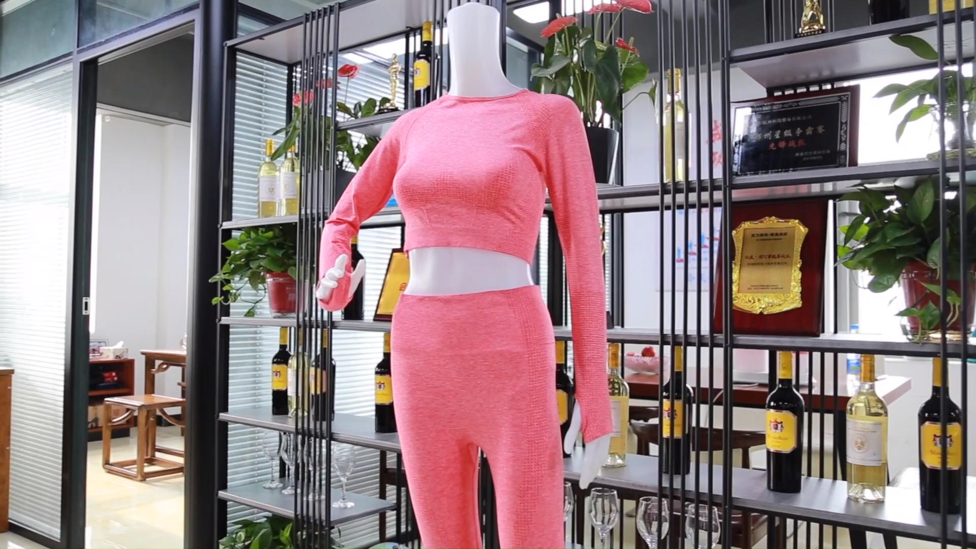 Groothandel Fitness Yoga Wear 5Pcs Naadloze Workout Vrouwen Gym Sets