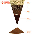 Chinese Coffee Instant Coffee Powder Classic Medium Roasted In Bulk For Camping Coffee