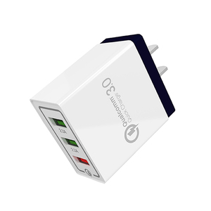 SIPU free sample new 2020 trending product qc 3.0 2.4A wall adapter 3 usb charger