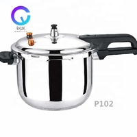 Mulit function 18-28cm mirror polished rice pressure pot customized stainless steel pressure cooker mould P102