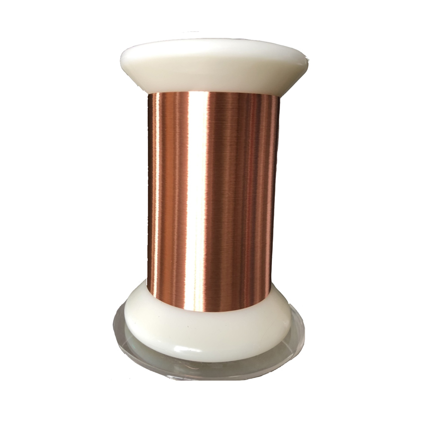 0.012 thin insulated copper wire thin motor core wire 2UEW 155 class - idealCable.net