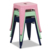 High quality furnitures indoor/outdoor stackable chairs stools metal