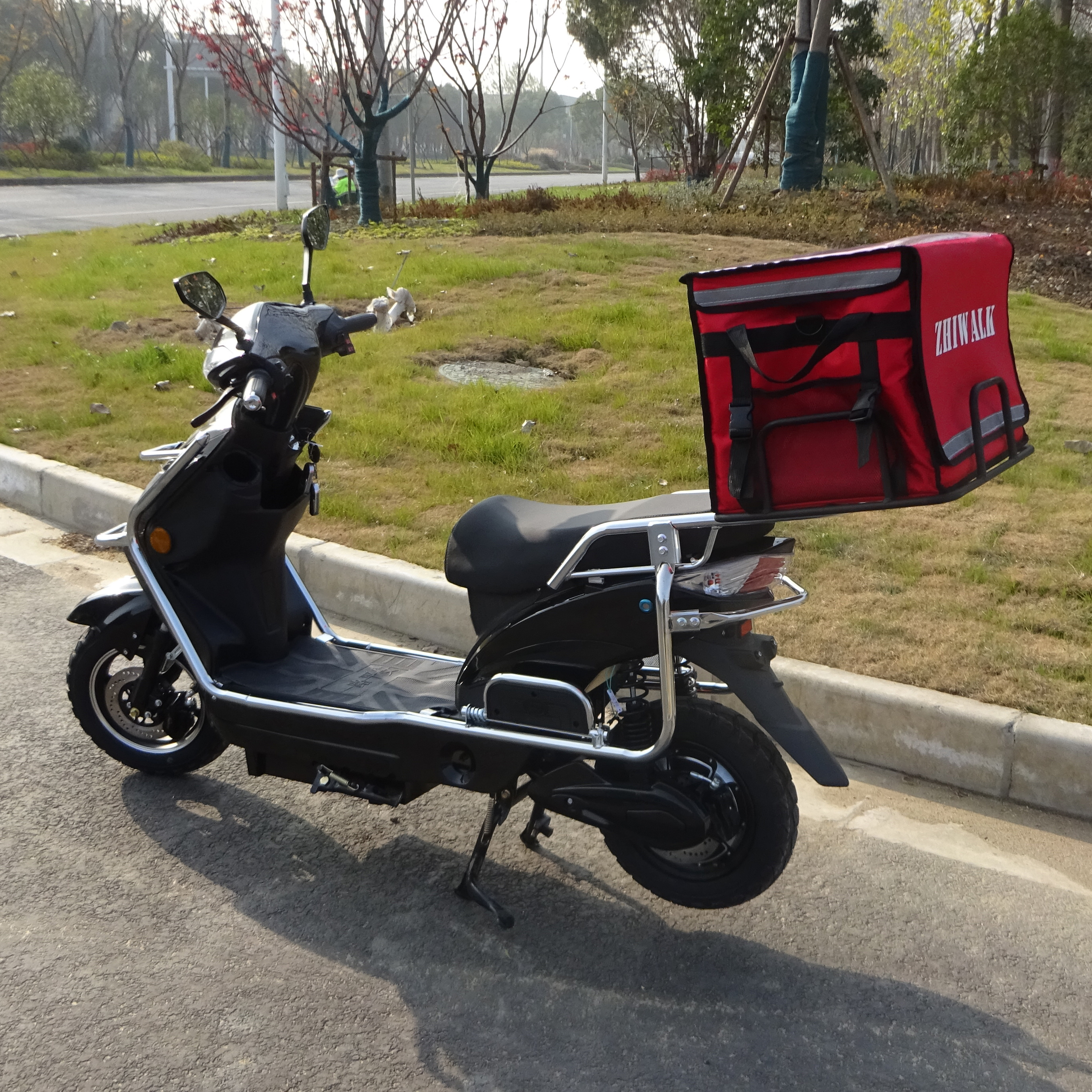 delivery electric motorcycle