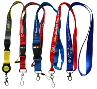 No Minimum Order Custom Printed Lanyard, Cheapest Lanyard With id Holder