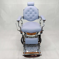 Hot Sale Portable Salon Chair Salon Furniture Heavy Duty Man Reclining Barbers Chairs for sale