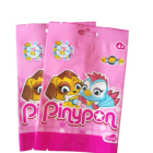 Eco small mylar mini custom printed toy plastic packaging bags for Mobil phone cable