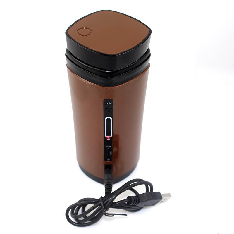 Портативный Электрический миксер, нагреватель, Кофеварка, кружка, usb, миксер, чашка, термо грелка, Кухонная машина(Китай)