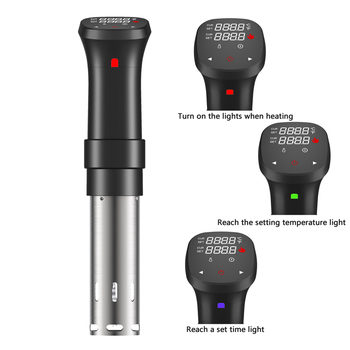 Restaurant cooking slow cooker sous vide stick electrical household appliance