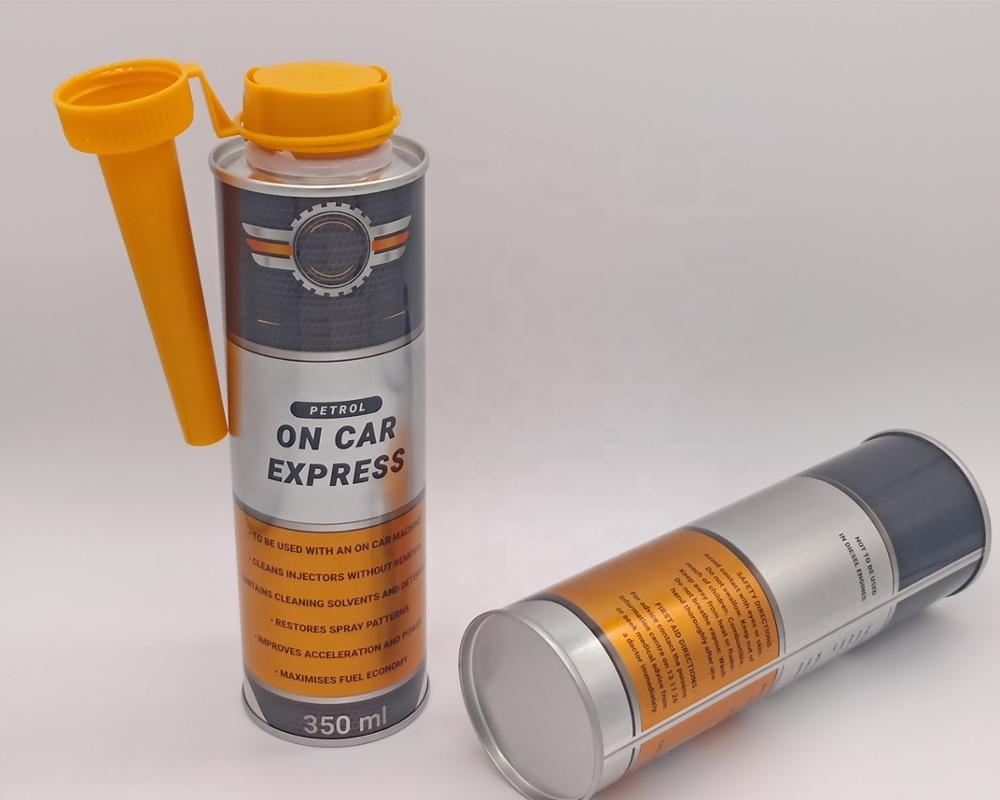 Hotsale motor oil flush tin can for car engine use