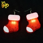 Party Supplies LED Christmas Earrings