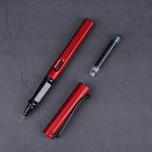 Мягкие Кисти для фонтанов, 8 цветов, ручка для каллиграфии в китайском стиле, для рисования, школьные и офисные канцелярские принадлежности(Китай)