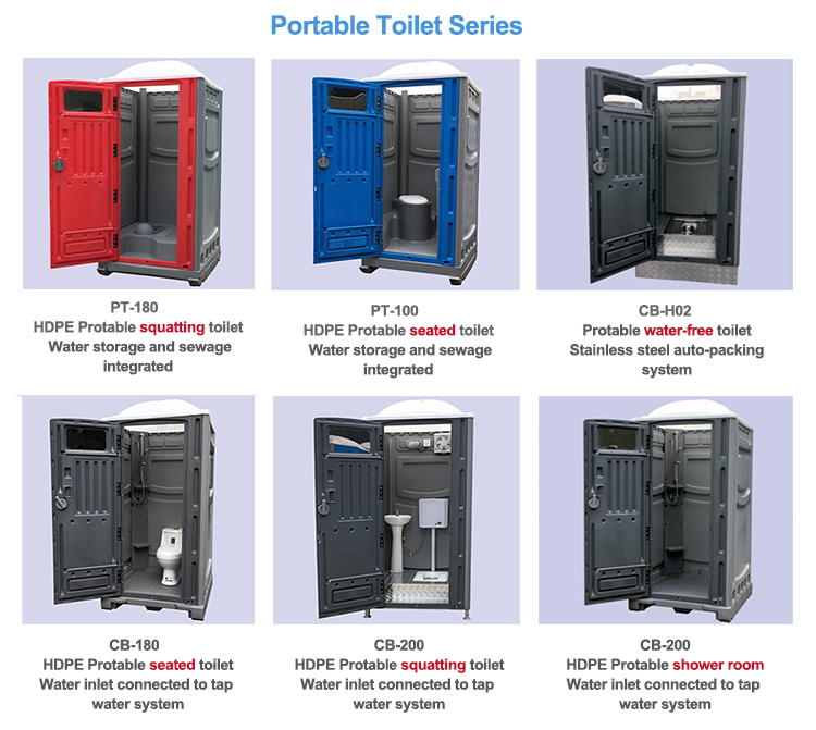 Plastic Mobile Portable Toilet