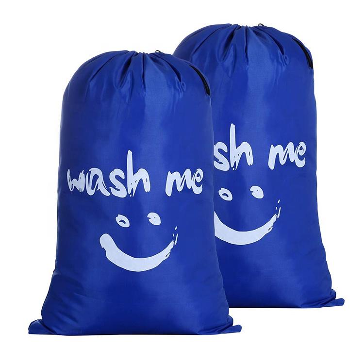 AFTBYSB389 Portable Travel Dirty Basket Bag Laundry Hamper Bags in Bulk