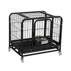 Square tube dog cage teddy Pomeranian small and medium size dog safe and comfortable thick dog cage