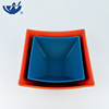 New arrival Elegant Rectangular Bone china Square Ceramic Salad Bowl For Breakfast