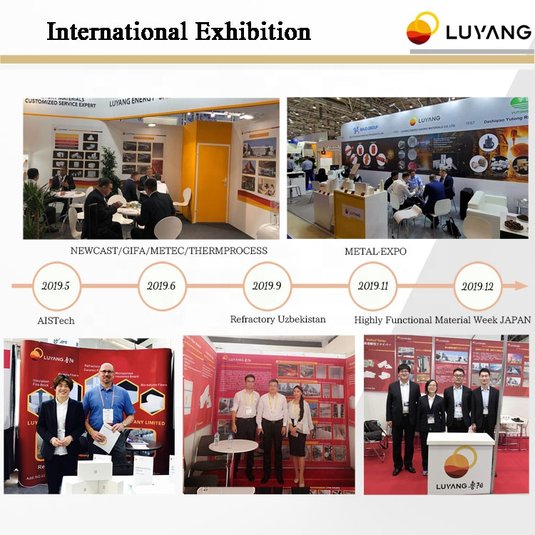 LUYANGWOOL supplier stove gasket material Ceramic fiber tape