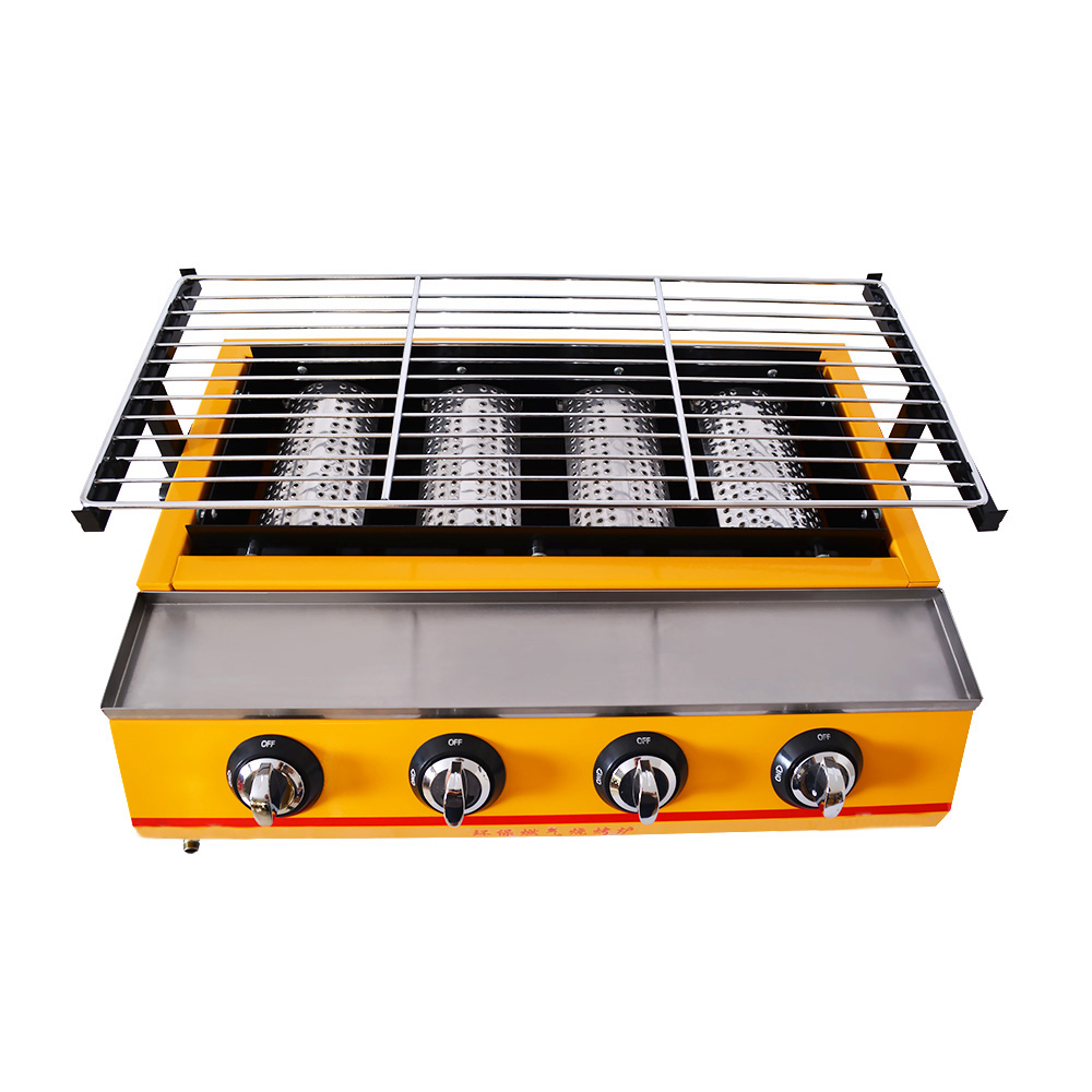 Commerciale barbecue grill a gas