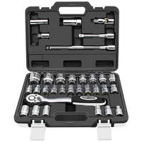Professional Household Hardware 32pcs Bits Socket Set Multi Tools Set For Auto Repair Tools Hardware Tool Set