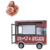 frozen food truck fast food caravan for sale