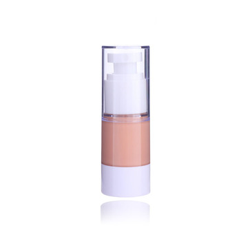vacuum pump liquid foundation & concealer ,2 in 1 components with private logo foundation