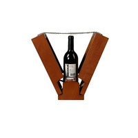 New design customized display wooden packaging wine box