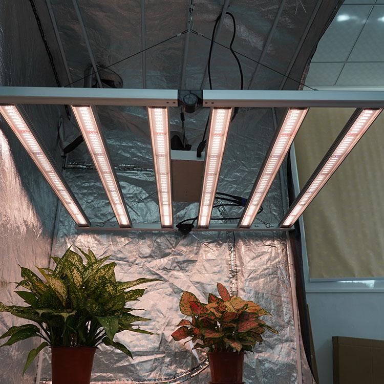 Meijiu Samsung LM301B Hydroponic, Vertical Farms 650W 6 Bars Full Spectrum For Indoor Plants Board Led Grow Light
