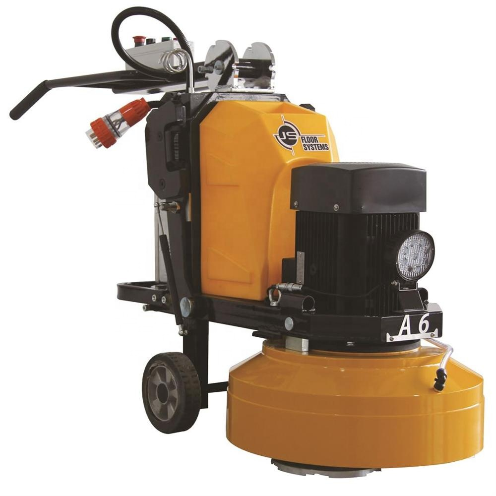 A6 Concrete Grinder Yellow 580 Planetary Concrete Grinding Machine