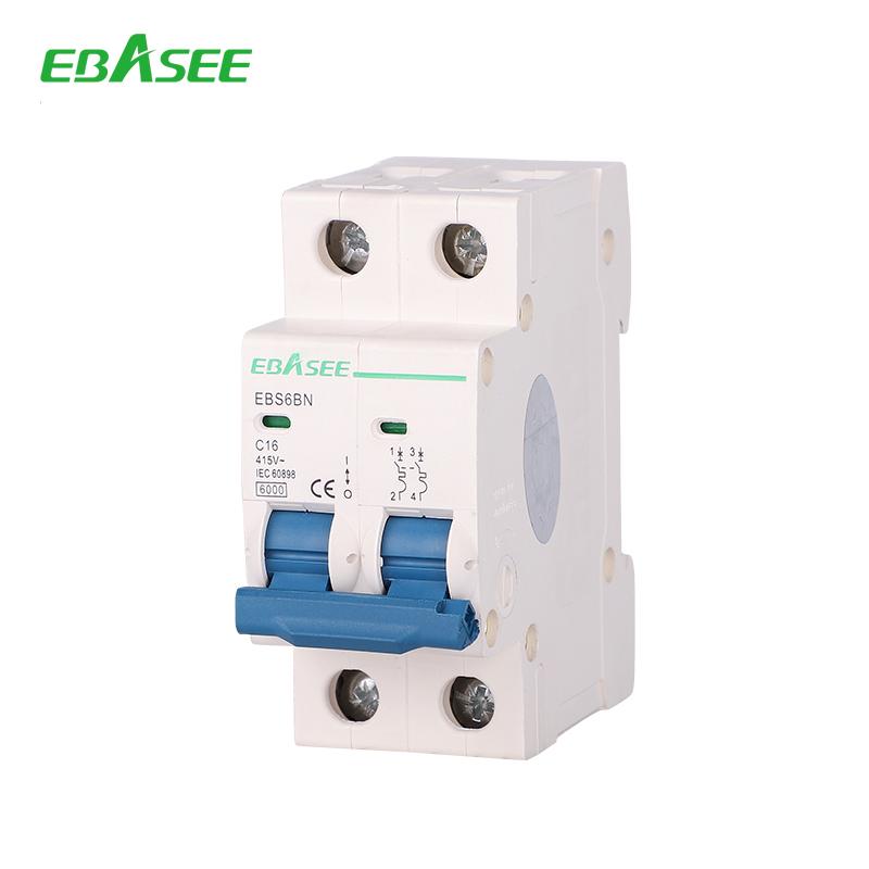 Factory supplier price 1-63A 240/415V mcb circuit breaker