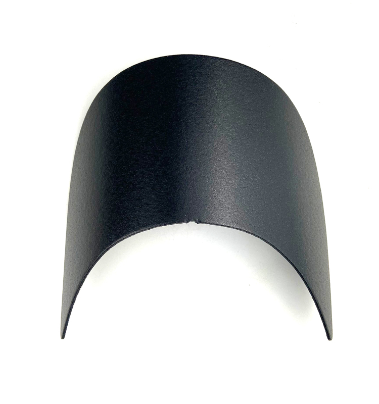 Custom top Plastic Short Baseball Hat Brim Inserts for Hat Parts