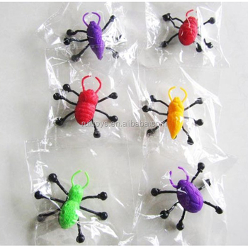 Halloween Toys 6 Styles Climb Glass Spider