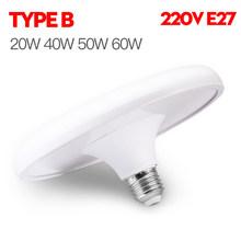 Супер яркий промышленный светильник ing 60W E27 Led вентилятор гаражный светильник 360 градусов деформируемый светодиодный высокий отсек промышл...()