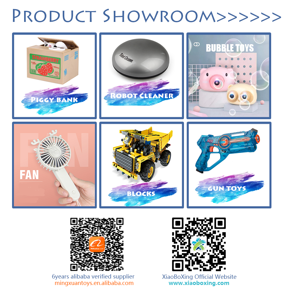 Xiaoboxing wholesale ABS electric mini musical balls and toys kids educational games claw candy claw machine