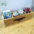 Useful New Custom Design Computer Or Office Free   Standing Desk Organizer Bamboo With Drawer