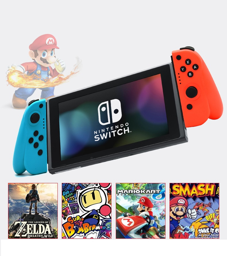 Wireless Joy-con JoyCon Controller For Nintendo Switch Console Gamepad Game Joystick Pad