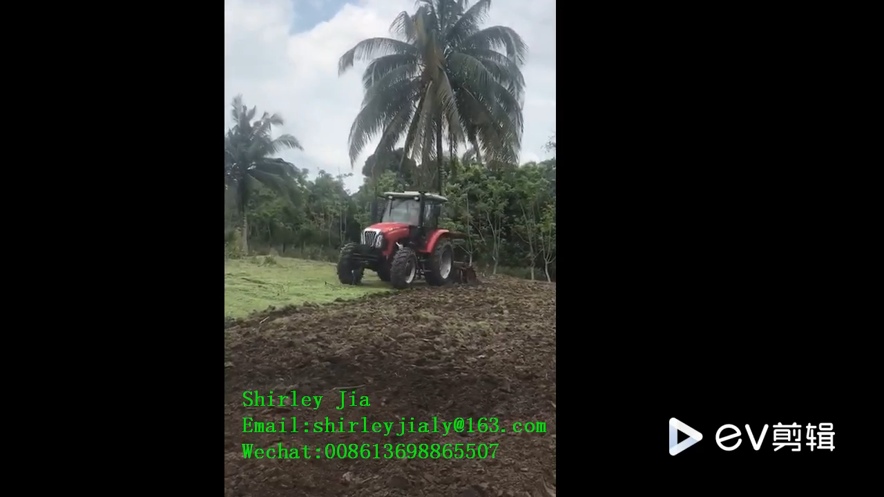45 HP 4WD mini tractor with cab