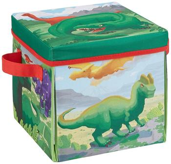 Customized 2 in 1 Convertible Plush Stuffed Toys Prehistoric Dinosaur Storage Bin Box Play Mat