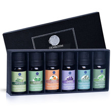 <span class=keywords><strong>100</strong></span>% Pure en Natuurlijke Etherische Olie Gift Set 10 ml/6pcs-Eucalyptus, <span class=keywords><strong>Lavendel</strong></span>, Citroengras, Oranje, rozemarijn en Thee Boom, Private Label