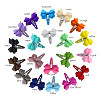 Baby Hair Clip Accessories NEW STYLE Mini Snap Clips 196 Colors Hair Bows for Newborns/Toddle