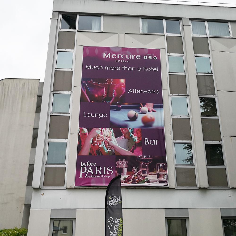 Outdoor PVC flex Banner Custom Vinyl Banner Printing Street Banner