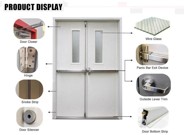 GH steel fire rated door display
