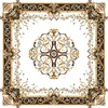Stone wall tiles medallions, Natural marble carving medallion floor pattern, Marble waterjet tiles design floor pattern