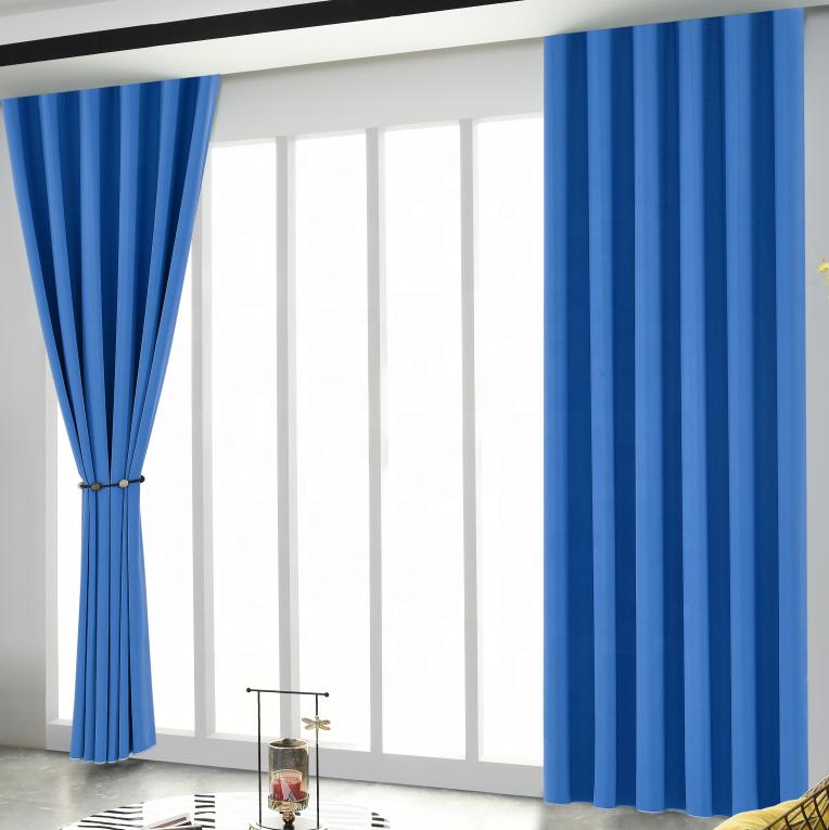 Birçok renk yangın geciktirici tasarımcı perde kumaşı ev perde pencere A02302