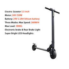 24V250W электрический скутер литиевая батарея складной электрический скейтборд Patinete Electrico Adulto Monopattino Elettrico(Китай)
