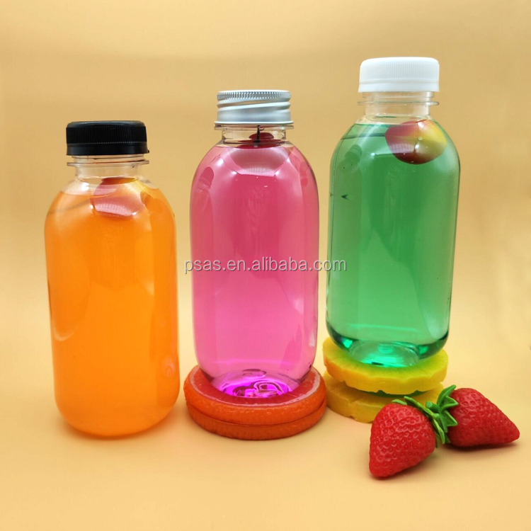 400ml Empty Transparent Clear PET Beverage Soda Drink Plastic Juice Bottle