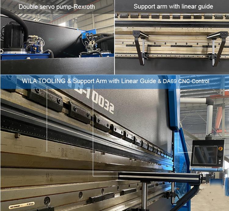 Hydraulische Biege Maschine Für Verkauf/Blatt Metall Abkantpresse